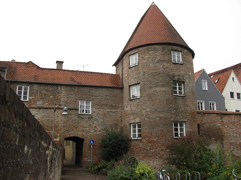 Tor Und Stadtmauer In Donauwörth - Quelle: Wikipedia