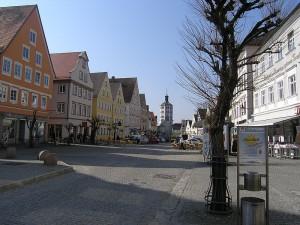 Marktplatz in Günzburg - Quelle: Wikipedia