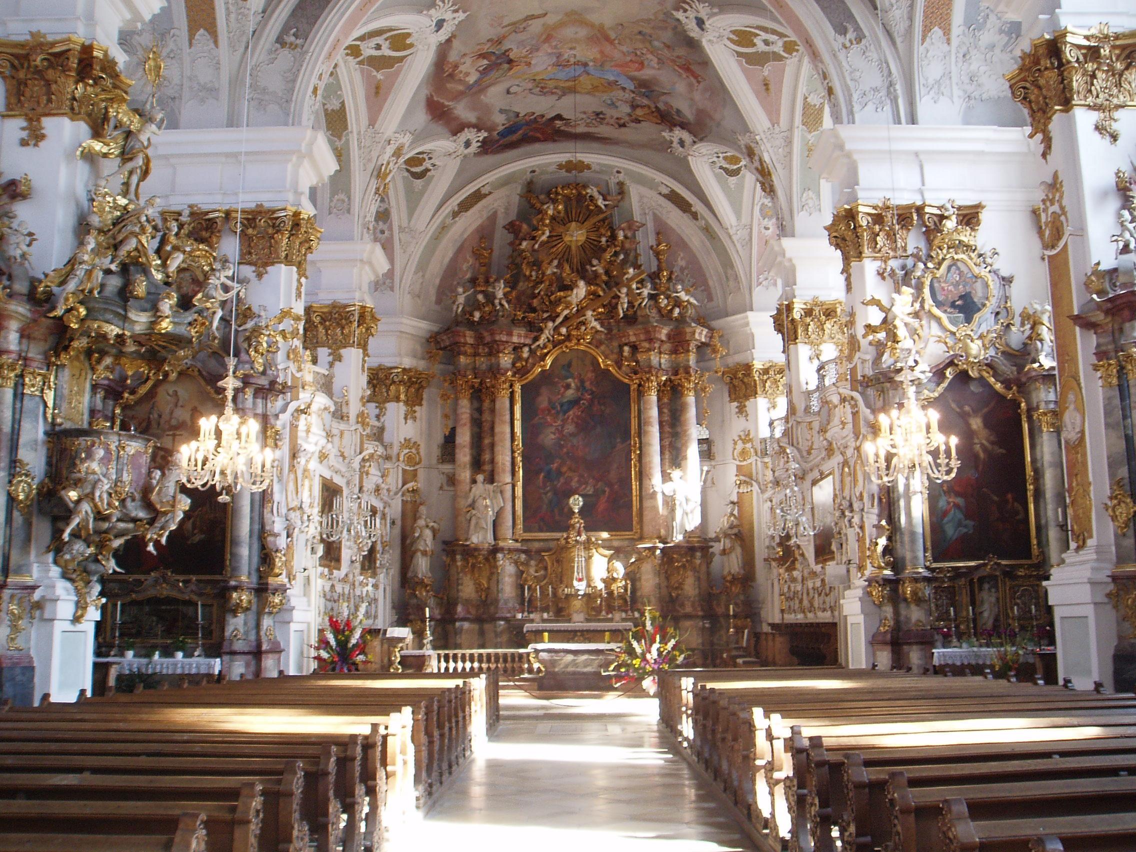 Kirche In Dillingen